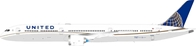 United Airlines Boeing 787-10 Dreamliner N14001 (1:200) by InFlight 200 Scale Diecast Airliners