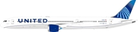 United Airlines Boeing 787-10 Dreamliner N12010 With Stand (1:200)