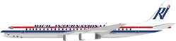 Rich International Airways Douglas DC-8-62 N772CA (1:200) by InFlight 200 Scale Diecast Airliners Item Number IF862JN0619