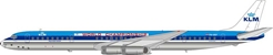 "KLM DC-8-63 PH-DEF ""World Championship"" Polished (1:200), InFlight 200 Scale Diecast Airliners Item Number IF8630318P"