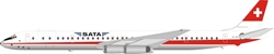 SATA Douglas DC-8-63 HB-IDM (1:200) - Preorder item, order now for future delivery, InFlight 200 Scale Diecast Airliners, Item Number IF8631218