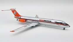 AeroMexico McDonnell Douglas DC-9-32 XA-AMA polished (1:200) - Preorder item, order now for future delivery, InFlight 200 Scale Diecast Airliners, Item Number IF930AM1218P