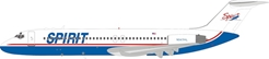 Spirit Airlines McDonnell Douglas DC-9-30 N947ML With Stand (1:200) by InFlight 200 Scale Diecast Airliners