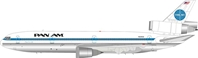 "Pan Am DC-10-10 ""Clipper Star Light"" N69NA Polished (1:200), InFlight 200 Scale Diecast Airliners Item Number IFDC101016P"