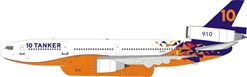 10 Tanker Air Carrier McDonnell Douglas DC-10-30/ER N612AX With Stand (1:200)