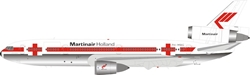 Martinair Holland McDonnell Douglas DC-10-30CF PH-MBG Polished (1:200)