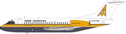 Air Anglia Fokker F-28-4000 Fellowship G-JCWW With Stand (1:200)