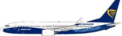 "Ryanair with Boeing colors 737-8AS ""New Colors"" EI-DCL (1:200)"