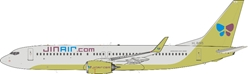 Jin Air 737-8SH HL8015 with stand (1:200)