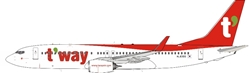 Tway Air 737-8AL with Winglets HL8300 (1:200)