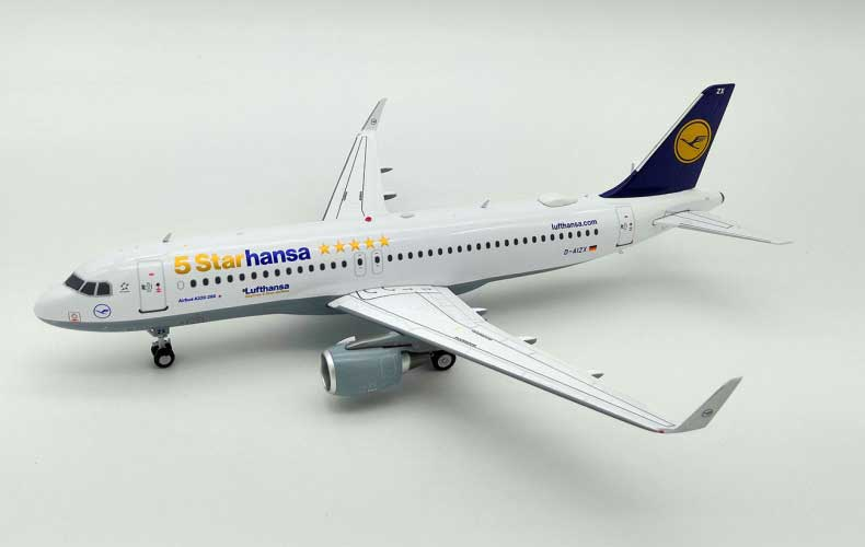 Lufthansa Airbus A320-200 D-AIUI (1:200) , InFlight 200 Scale Diecast Airliners Item Number JF-A320-012