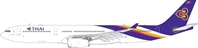 Thai Airways A330-300 HS-TBE (1:400) by Phoenix 1:400 Scale Diecast Aircraft Item Number: PH4THA1908