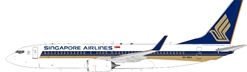 Singapore Airlines 737-800 9V-MGA with stand (1:200)