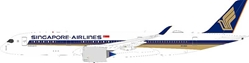 Singapore Airlines Airbus A350-941ULR 9V-SGG With Stand (1:200)