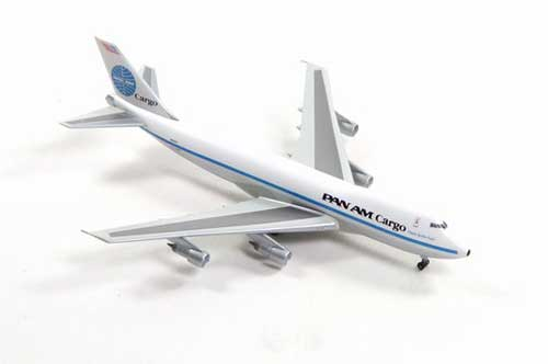 "Pan Am 747-200F ""Clipper Golden Eagle"" (1:400) Chrome, Jet X 1:400 Diecast Airliners, Item Number JET070C"
