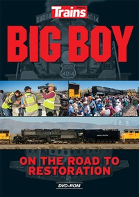 Big Boy The Road To Restor Dvd, Kalmbach HobbyStore Item Number KAL15109