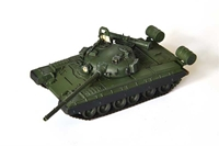 T-80B Main Battle Tank Mod 1980 with Command Shield, Soviet Army Elite Squad (Plastic w/ photo-etched parts) (1:72), ModelCollect Item Number AS72026