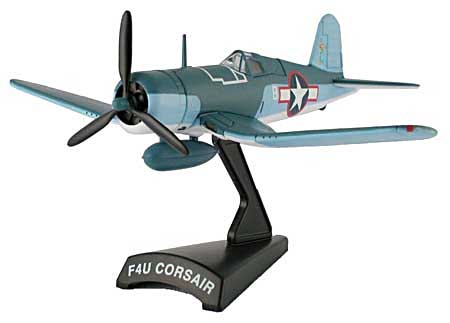 F4U Corsair 'VMF-422 (1:100), Model Power Diecast Planes Item Number MP5356-2