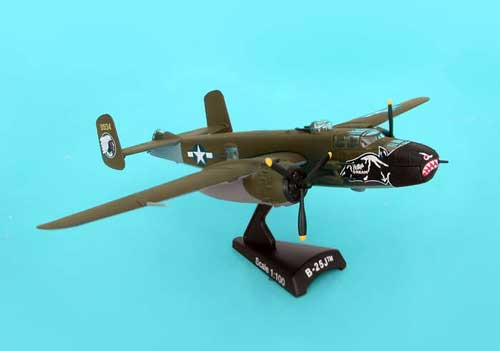 B-25J Bettys Dream (1:100), Model Power Diecast Planes Item Number MP5403-3