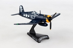 F4U Corsair #167 (1:100) by Postage Stamp Diecast Planes item number: PS5356-4