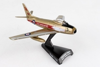 F-8 Canadair Sabre, RCAF, Golden Hawks (1:110) by Postage Stamp Diecast Planes item number: PS5361-4