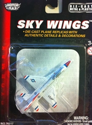 "F-16 Falcon (Approx. 3.5""), Motormax Diecast Item Number DS-F16"