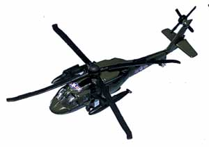 "HH-60 Jayhawk (Approx. 3.5""), Motormax Diecast Item Number DS-HH60"