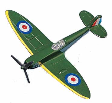 "Spitfire  (Approx. 3.5""), Motormax Diecast Item Number DS-SPIT"