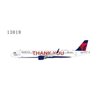 "Delta Air Lines A321-200/w N391DN ""Thank You"" title (1:400)"
