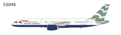British Airways B757-200 G-BIKA Blue Poole (1:400)