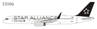 United Airlines 757-200 N14120 Star Alliance, upgraded wing (1:400) by NG Models