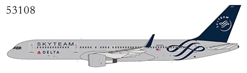 Delta Air Lines 757-200/w N659DL SkyTeam (1:400) by NG Models