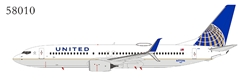 United Airlines 737-800/w N77296 with scimitar winglets (1:400)