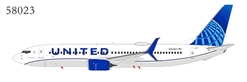 United Airlines 737-800 Scimitars N37267 New Livery (1:400) by NG Models