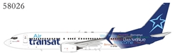 Air Transat 737-800/w C-GTQG with scimitar winglets (1:400)