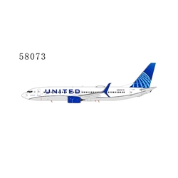 United Airlines 737-800 with scimitar winglets N26208 2019's livery (1:400)