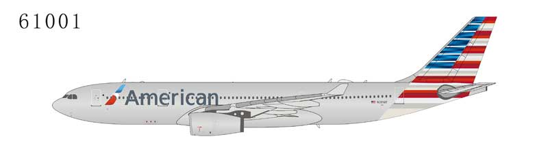 American Airlines A330-200 N281AY New Colors (1:400) by NG Models Item Number: 61001