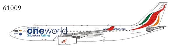 SriLankan Airlines A330-200 4R-ALH One World (1:400)