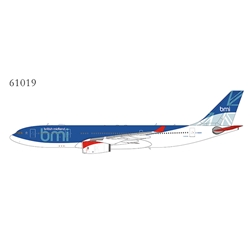 "BMI British Midland A330-200 G-WWBM with ""british midland"" title (1:400)"