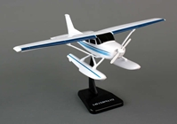 Cessna 172 Skyhawk on Floats (1:42 scale), New Ray Diecast Item Number NR20653