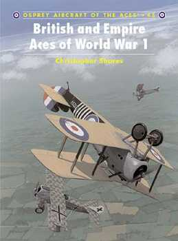 British & Empire Aces Of WW I, Osprey Publishing Item Number OSPACE45