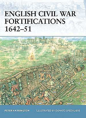 English Civil War Fortifications 1642-51, Osprey Publishing Item Number OSPFOR9