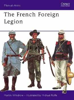 The French Foreign Legion, Osprey Publishing Item Number OSPMAA17