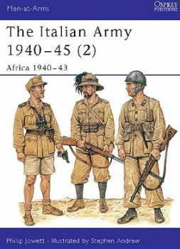 The Italian Army 1940-45 (2) Africa 1940-43, Osprey Publishing Item Number OSPMAA349