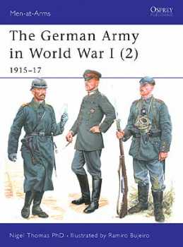 The German Army In WW I (2) 1915-17, Osprey Publishing Item Number OSPMAA407