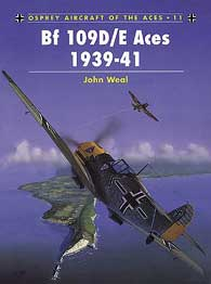 Bf-109D/E Aces 1939-41, Osprey Publishing Item Number OSPACE11