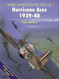 Hurricane Aces 1939-40, Osprey Publishing Item Number OSPACE18