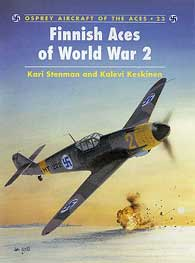 Finish Aces Of WW II, Osprey Publishing Item Number OSPACE23