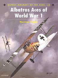 Albatros Aces Of WW I Pt1, Osprey Publishing Item Number OSPACE32