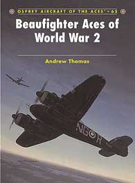 Beaufighter Aces Of WW II, Osprey Publishing Item Number OSPACE65